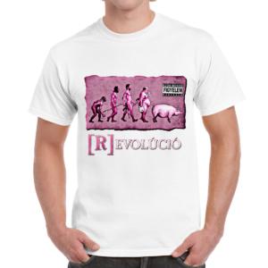 Rózsaszín Pittbull - Revolúció póló